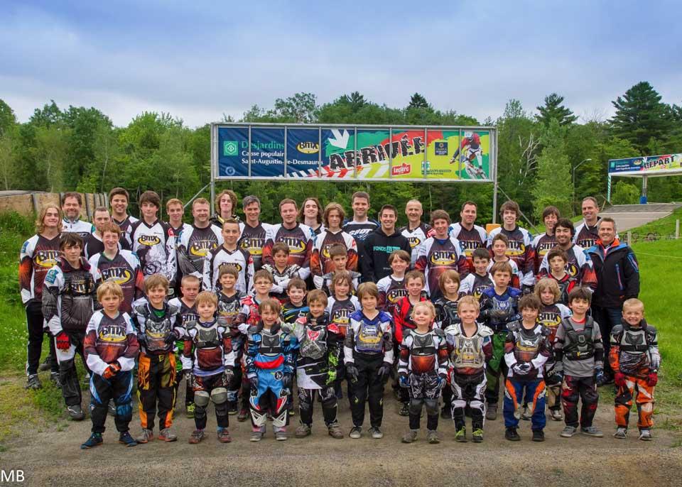 Club de BMX de St-augustin, très bel organisation